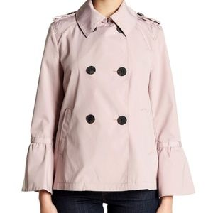 BCBGeneration Double Breasted Bell Sleeve Coat